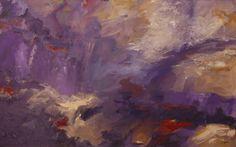 Sunrise is Purple by Diana Kingsley Oil ~ 30 x 48