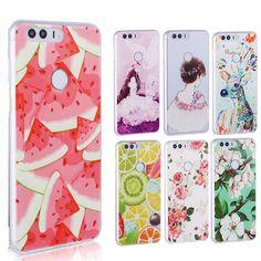 Soft TPU 3D case Huawei honor 8 case cover,Back Case for Huawei honor 8 fashion cases cover honor8