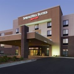 SpringHill Suites by Marriott-In every suite you'll find smartly designed spaces for working, relaxing and sleeping, plus great extras like free Wi-Fi, a desk with ergonomic chair, a pantry with mini-fridge, coffee maker and microwave, comfortable, flexible seating and pull-out sofa. There's a fitness room or indoor heated pool. Start the day with a free  hot and healthy breakfast buffet to keep you well-fed and on-schedule. Approximately $149/night.