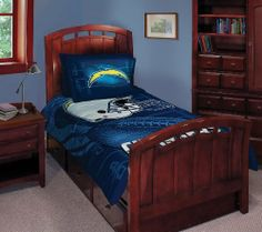 San Diego Chargers Twin/Full Comforter with Two Pillow Shams by Northwest. Save 64 Off!. $31.00