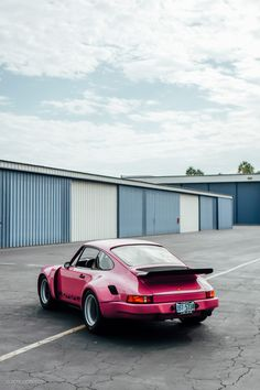This Pink 911RSR Is A Fully Custom Street Legal Factory Race Car • Petrolicious