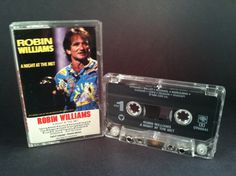 ROBIN WILLIAMS - a night at the met - CASSETTE comedy