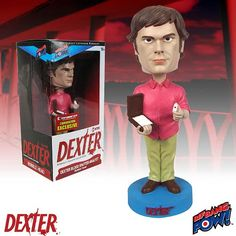 Dexter Blood Spatter Analyst Bobble Head - Con Exclusive - Bif Bang Pow! - Dexter - Bobble Heads at Entertainment Earth