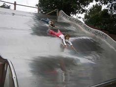 Görlitzer Park's Gigantic Slide