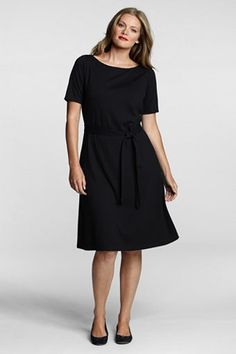 black dress Lands End