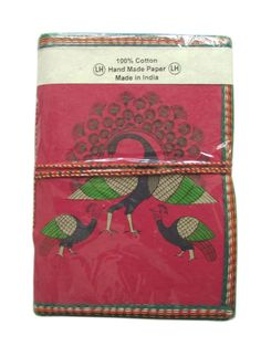 Blank Unlined Journal Indian Peacock  Magenta by IndianJournals beautiful!!