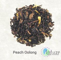 Peach Oolong: Looking for some southern comfort? Transport yourself to the lush peach orchards of Georgia with this peach oolong blend. Strong, yet sweet, this tea is perfect when served hot or iced.