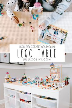 Easy DIY Lego Table Easy DIY Lego Table Easy DIY Lego Table Have you been stepping on legos? Are your kids room are messy with random legos everywhere? Don't want to pay for an actual lego table? Don't worry, my fellow parent… I've g… Table Lego Diy, Lego Table With Storage, Lego Play Table, Ikea Toy Storage, Kids Storage, Mesa Lego, Lego Boxes, Playroom Organization, Ikea Playroom