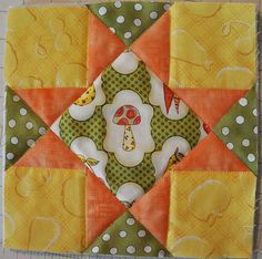 Today we are going to make a potholder! I will show you how to make this particular block, but you can use this method to make a pothol...