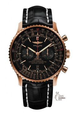 @breitling Navitimer 01 46 mm Limited Edition. More info. @ http://www.watch-insider.com/fun/24-12-christmas-2015-so-24-is-the-magic-number-a-selection-of-24-wristwatches-you-may-like/ #breitling #watchtime #chronograph: