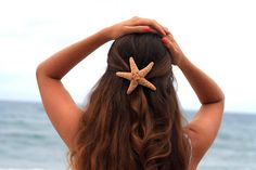 sierrascott_xx's save of Large Starfish Hair Barrette on Wanelo