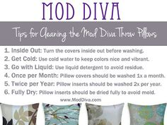 26 Best How To Clean A Pillow S Images Cleaning Hacks Cleaning