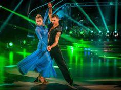 Abbey Clancy and Aljaz Skorjanec Perform In Week 9 Of Strictly Come Dancing 2013