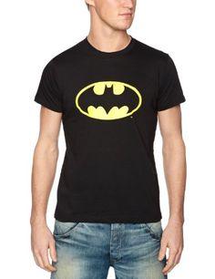 DC Comics - Camiseta de Batman para hombre, talla 39/40, color Negro #regalo #arte #geek #camiseta