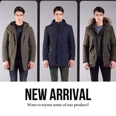 WARREN WEBBER COAT'S NEW ARRIVAL