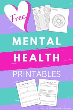 This is an amazing collection of free printable mental health worksheets The mood trackers are made specifically for anxiety depression or bipolar disorder My therapist h. Mental Health Activities, Free Mental Health, Mental Health Journal, Mental Health Counseling, Mental Health Awareness, Mental Health Education, Mental Health Disorders, Mental Health Advocacy, Mental Health Therapy