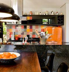 Colorindo a cozinha. Veja como
