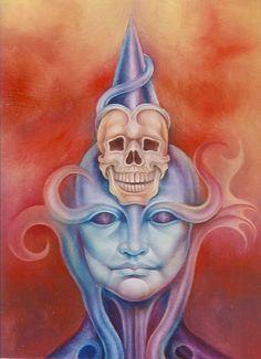 Skull king by Edit Szigeti