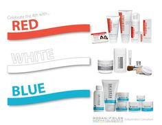 Don't forget your Rodan + Fields skincare on the 4th of July!    All Rodan + Fields sunscreens have been awarded the Skin Cancer Foundation's Seal of Recommendation. This designation is only granted to sun protection products that meet stringent criteria and provide scientific data to demonstrate that the product sufficiently and safely aids in the prevention of sun-induced damage to the skin. www.fmiller.myrandf.com