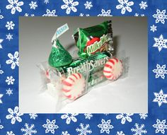 From Room Mom 101: Christmas Candy Train - Aren't these cute?  My kids made them years and years ago and I'm sure Luke will love making them this year!