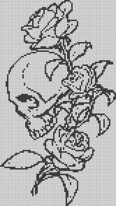 Thrilling Designing Your Own Cross Stitch Embroidery Patterns Ideas. Exhilarating Designing Your Own Cross Stitch Embroidery Patterns Ideas. Cross Stitch Skull, Cross Stitch Charts, Cross Stitch Designs, Cross Stitch Patterns, Pagan Cross Stitch, Cross Stitch Tattoo, Cross Stitching, Cross Stitch Embroidery, Embroidery Patterns
