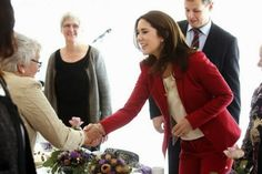 royalsandquotes:  Crown Princess Mary visited the Lind Care and Activity Center, December 12, 2013