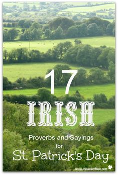 17 Irish Proverbs an