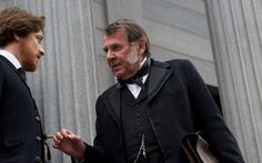 The Lone Ranger Tom Wilkinson - See best of PHOTOS of the LONE RANGER film http://www.wildsoundmovies.com/the_lone_ranger_tom_wilkinson.html