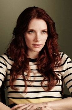 Bryce Dallas Howard... I miss my hair this color... and I love the wave.