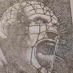 Pin head pointillism