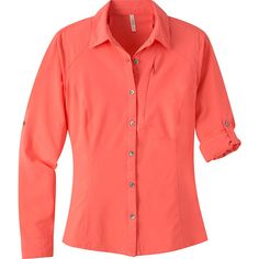 Mountain Khakis Skiff Shirt Shirt (6.800 RUB) ❤ liked on Polyvore featuring tops, apparel, pink, women's apparel, sleeve shirt, pink shirt, pink top, red shirt and roll tab sleeve shirts