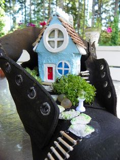 The Old woman Who Lived in a Shoe ~Created by Nina Eary~