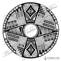 Marketplace Tattoo Native American round pattern #5203 | CreateMyTattoo.com