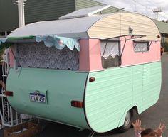 pretty cupcake caravan, Perth, WA. This is adorable!