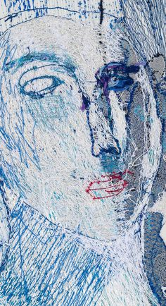 alice kettle Free Machine Embroidery, Textile Artists, Kettle, Alice, Stitch, Abstract, Gallery, Artwork, Summary