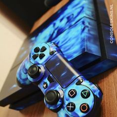 Blue Skull - PS4 Console Skins Ps4 Skins, Console, Games, Skull, Blue, Consoles, Plays, Game, Skulls