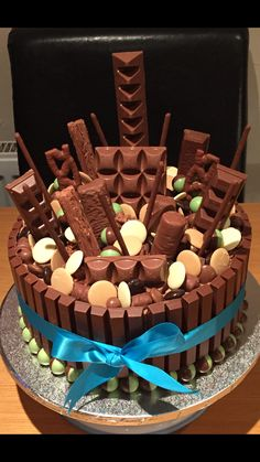 Large Chocolate Explosion Cake. By Cakes of Joy