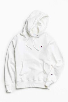 Shop Champion Reverse Weave Hoodie Sweatshirt at Urban Outfitters today. We carry all the latest styles, colors and brands for you to choose from right here. Hoodie Sweatshirts, Pullover Hoodie, White Champion Hoodie, Champion Sweatshirt, Hoodie Outfit, Vans Converse, Adidas Sneakers, Shoes Sneakers, Champion Clothing
