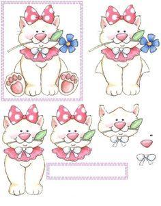 cat & flower