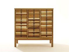 SIXTEMATIC chest of drawers walnut or black walnut