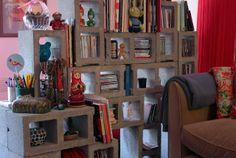 Casa de Colorir: Ideia concreta (como dividir ambientes)