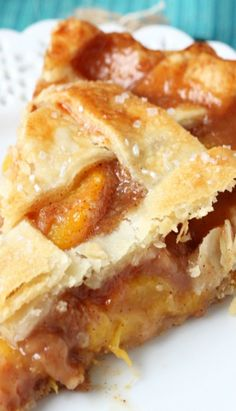 Peach Pie to go with my coffee sounds good to me!