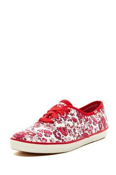 keds champion floral sneaker