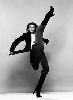 Ann Reinking photographed by Jack Mitchell