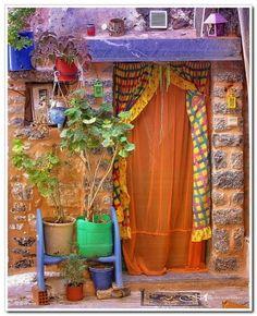 Olympoi Village    Chios Island, Greece