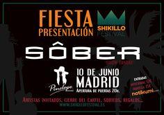 Concierto de Sôber en Madrid