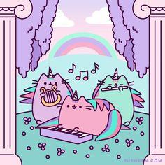 Comics Archives - Page 7 of 34 - Pusheen Pusheen Love, Pusheen Plush, Kawaii Wallpaper, Cat Wallpaper, Easter Cats, Nyan Cat, Cute Kawaii Drawings, Unicorns And Mermaids, Photo Chat
