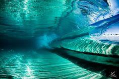 Inside of a Wave by Alex Ormerod