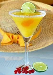 Cocktail Pineau Mango – Des fruits et du Pineau