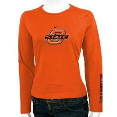 Classic is synonymous with class act. Show off your style in this ladies long sleeve tee from Nike!